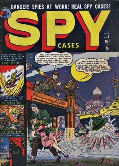 Cover for Spy Cases (Marvel, 1951 series) #7