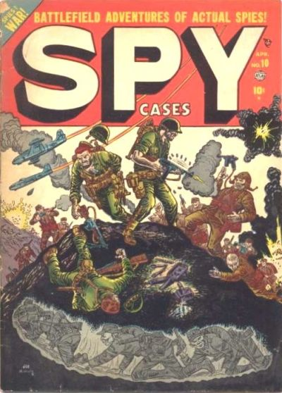 Cover for Spy Cases (Marvel, 1951 series) #10
