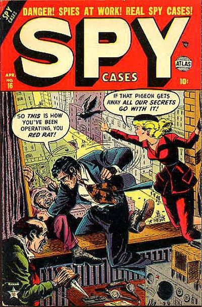 Cover for Spy Cases (Marvel, 1951 series) #16
