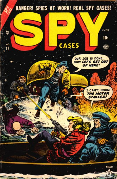 Cover for Spy Cases (Marvel, 1951 series) #17