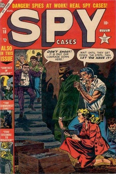 Cover for Spy Cases (Marvel, 1951 series) #18