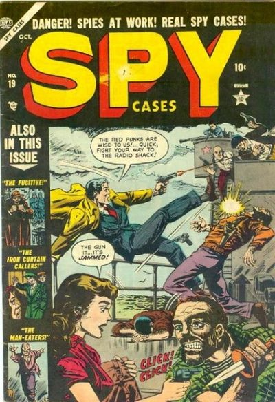 Cover for Spy Cases (Marvel, 1951 series) #19