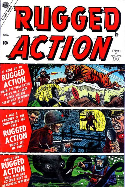Cover for Rugged Action (Marvel, 1954 series) #1