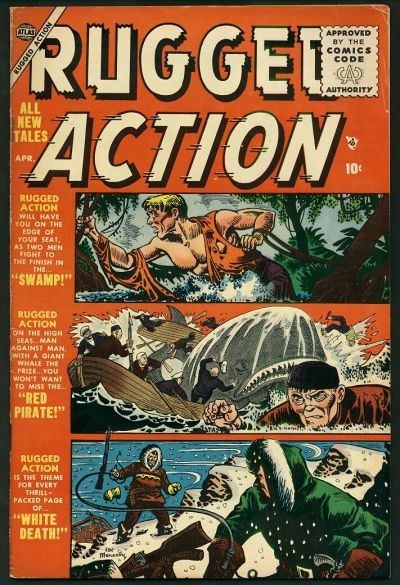 Cover for Rugged Action (Marvel, 1954 series) #3