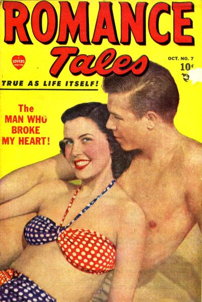 Cover for Romance Tales (Marvel, 1949 series) #7