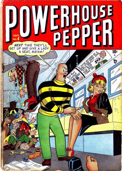 Cover for Powerhouse Pepper (Marvel, 1948 series) #4