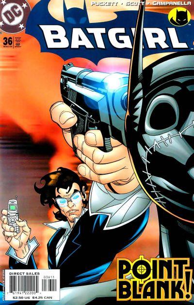 Cover for Batgirl (DC, 2000 series) #36