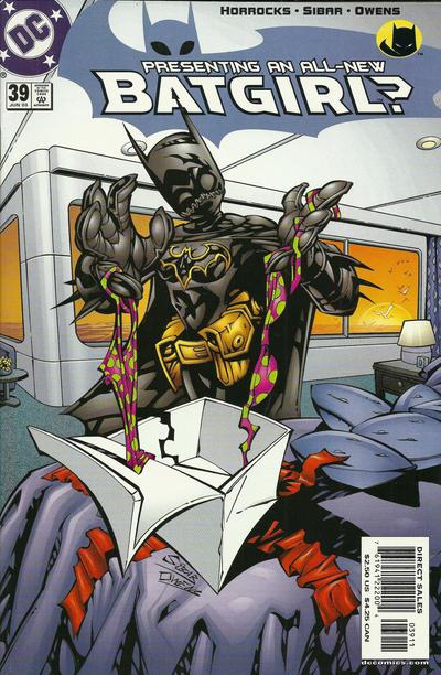 Cover for Batgirl (DC, 2000 series) #39