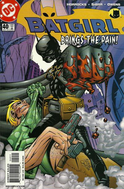 Cover for Batgirl (DC, 2000 series) #40