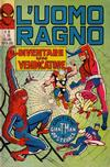 Cover for L' Uomo Ragno [Collana Super-Eroi] (Editoriale Corno, 1970 series) #36
