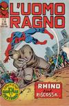 Cover for L' Uomo Ragno [Collana Super-Eroi] (Editoriale Corno, 1970 series) #37