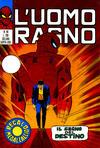 Cover for L'Uomo Ragno [Collana Super-Eroi] (Editoriale Corno, 1970 series) #44