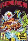 Cover for L'Uomo Ragno (Edizioni Star Comics, 1987 series) #2