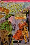 Cover for Girls' Romances (DC, 1950 series) #27