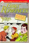 Cover for Girls' Romances (DC, 1950 series) #29