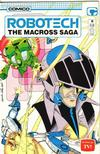 Cover for Robotech: The Macross Saga (Comico, 1985 series) #18