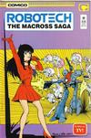 Cover for Robotech: The Macross Saga (Comico, 1985 series) #22