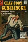 Cover for Clay Cody, Gunslinger (Pines, 1957 series) #1