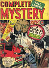 Cover for Complete Mystery (Marvel, 1948 series) #4