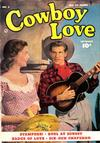 Cover for Cowboy Love (Fawcett, 1949 series) #3
