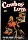 Cover for Cowboy Love (Fawcett, 1949 series) #4