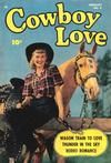 Cover for Cowboy Love (Fawcett, 1949 series) #8