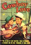 Cover for Cowboy Love (Fawcett, 1949 series) #10