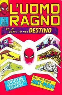 Cover Thumbnail for L'Uomo Ragno [Collana Super-Eroi] (Editoriale Corno, 1970 series) #25