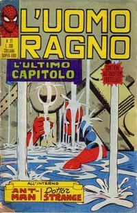 Cover Thumbnail for L'Uomo Ragno [Collana Super-Eroi] (Editoriale Corno, 1970 series) #27