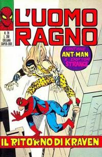 Cover Thumbnail for L'Uomo Ragno [Collana Super-Eroi] (Editoriale Corno, 1970 series) #28
