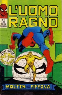 Cover Thumbnail for L'Uomo Ragno [Collana Super-Eroi] (Editoriale Corno, 1970 series) #29