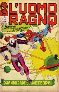 Cover Thumbnail for L'Uomo Ragno [Collana Super-Eroi] (Editoriale Corno, 1970 series) #30