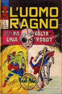 Cover Thumbnail for L'Uomo Ragno [Collana Super-Eroi] (Editoriale Corno, 1970 series) #31