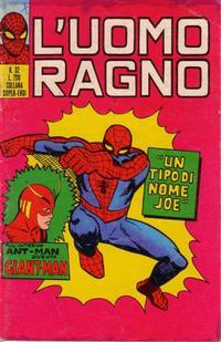 Cover Thumbnail for L'Uomo Ragno [Collana Super-Eroi] (Editoriale Corno, 1970 series) #32