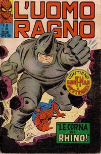 Cover Thumbnail for L'Uomo Ragno [Collana Super-Eroi] (Editoriale Corno, 1970 series) #34