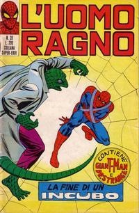 Cover Thumbnail for L'Uomo Ragno [Collana Super-Eroi] (Editoriale Corno, 1970 series) #39