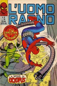 Cover Thumbnail for L'Uomo Ragno [Collana Super-Eroi] (Editoriale Corno, 1970 series) #48