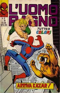 Cover Thumbnail for L'Uomo Ragno [Collana Super-Eroi] (Editoriale Corno, 1970 series) #52