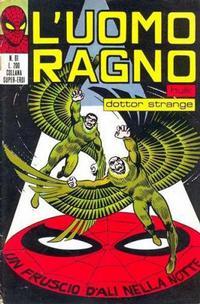 Cover Thumbnail for L'Uomo Ragno [Collana Super-Eroi] (Editoriale Corno, 1970 series) #61