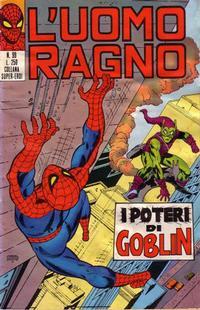 Cover Thumbnail for L'Uomo Ragno [Collana Super-Eroi] (Editoriale Corno, 1970 series) #99