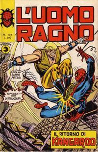 Cover Thumbnail for L'Uomo Ragno [Collana Super-Eroi] (Editoriale Corno, 1970 series) #138