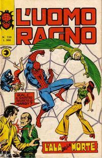 Cover Thumbnail for L'Uomo Ragno [Collana Super-Eroi] (Editoriale Corno, 1970 series) #139