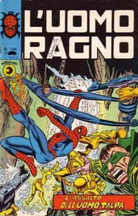 Cover Thumbnail for L'Uomo Ragno [Collana Super-Eroi] (Editoriale Corno, 1970 series) #146