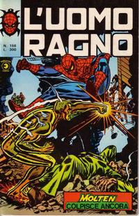 Cover Thumbnail for L'Uomo Ragno [Collana Super-Eroi] (Editoriale Corno, 1970 series) #156
