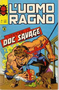 Cover Thumbnail for L'Uomo Ragno [Collana Super-Eroi] (Editoriale Corno, 1970 series) #170