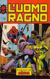Cover Thumbnail for L'Uomo Ragno [Collana Super-Eroi] (Editoriale Corno, 1970 series) #171