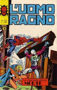 Cover Thumbnail for L'Uomo Ragno [Collana Super-Eroi] (Editoriale Corno, 1970 series) #175