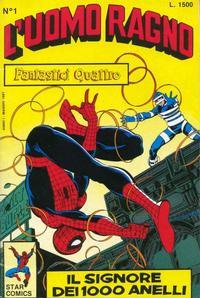 Cover Thumbnail for L'Uomo Ragno (Edizioni Star Comics, 1987 series) #1