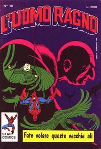 Cover Thumbnail for L'Uomo Ragno (Edizioni Star Comics, 1987 series) #10