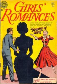 Cover Thumbnail for Girls' Romances (DC, 1950 series) #14